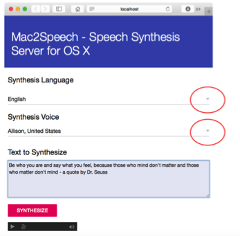 Mac2Speech, a TTS Server for the rest of us – Wolf Paulus