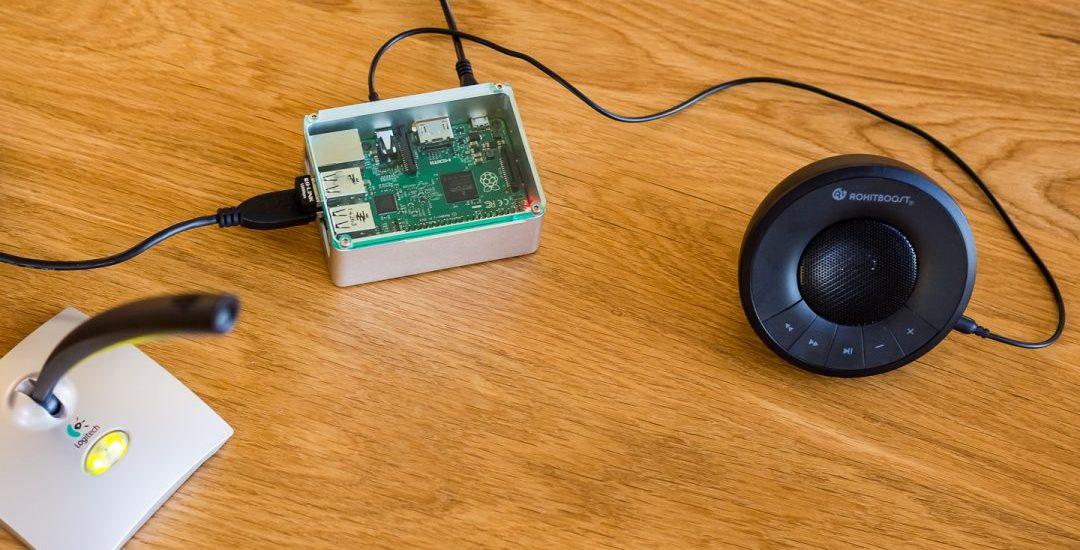 Raspberry Pi voice translator via Google and Microsoft