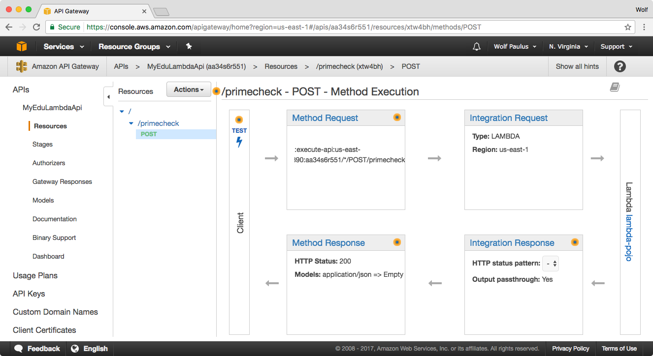 Serverless compute with Java, on AWS Lambda – Wolf Paulus